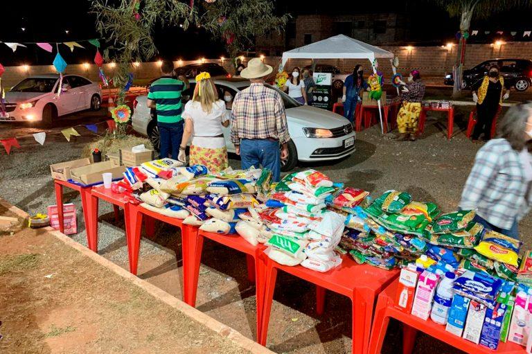 Drive Thru Caipira Solidário