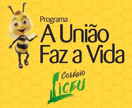 """Colégio Liceu Barretos e Sicredi juntos no  Programa """"A união faz a vida""""."""