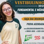 Vestibulinho do Colégio Liceu Barretos para o ano letivo de 2021